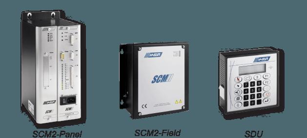 Contrôleurs SCM2f, SCM2p et SDU pour doseur HASLER
