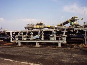 Large Belt Scale for high flowrate and speed