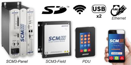 Contrôleurs de débit pour doseurs à bande transporteuse SCM-3