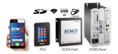 Application mobile, Process Display Unit, Scm-3 Fild et Scm-3 Panel