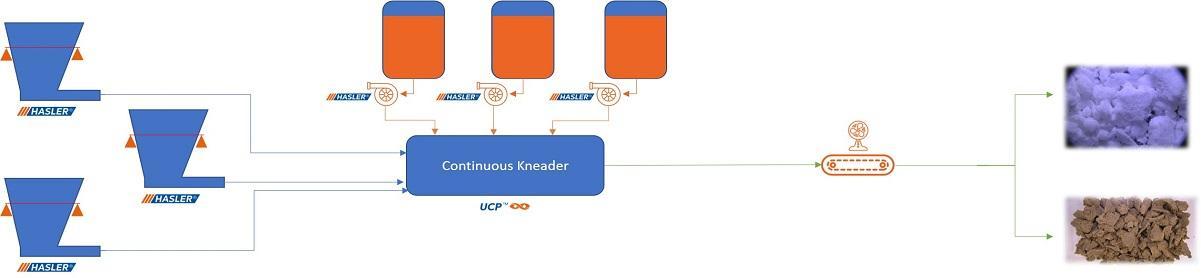 Diagram showing the encapsulation process
