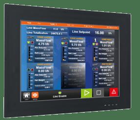 Le logiciel et automate de gestion des recettes pour les ligne d'alumine